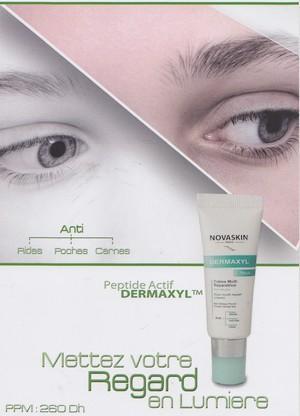 Novaskin Dermaxyl yeux crème multi-réparatrice