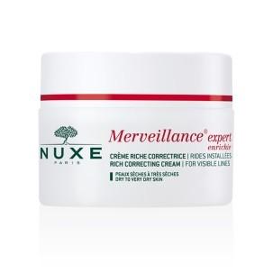 Nuxe Merveillance Expert Crème Riche Correctrice pour Peaux Sèches à très Sèches (50 ml)