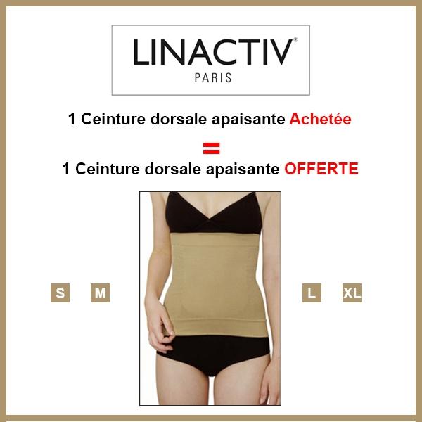 Orescience LINACTIC ceinture dorsale apaisante achetée chair = Orescience ceinture dorsale chair offerte