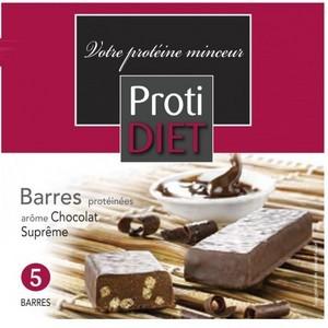 Protidiet 5 Barres hyperprotéinées de 41g (Choix de goût)