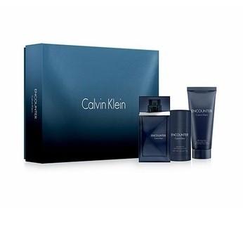 Coffret Calvin Klein Encounter: Eau de toilette homme 100ml + Déodorant Stick + Baume Après Rasage