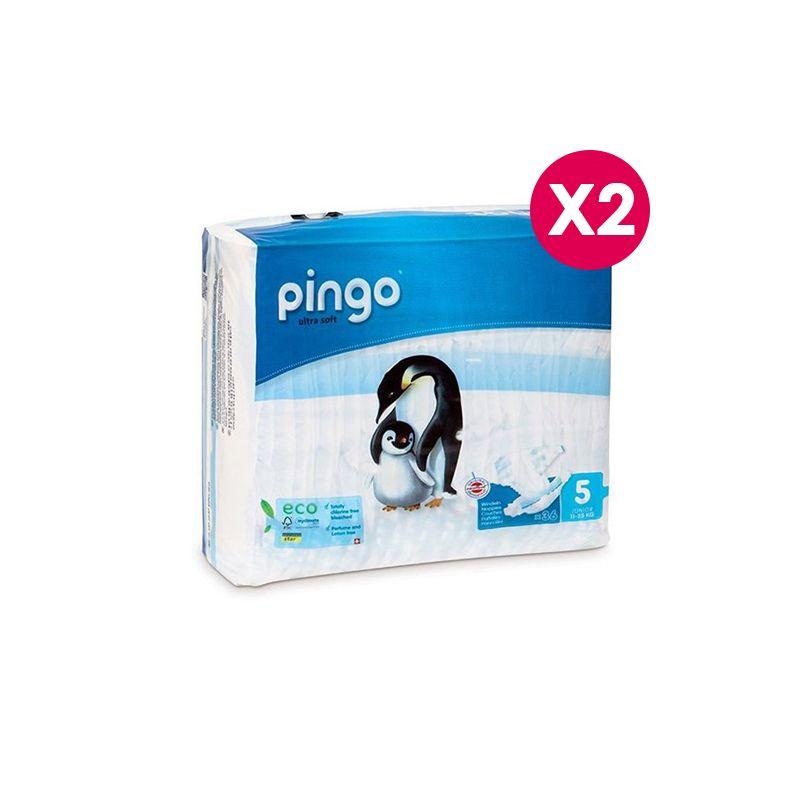 Pingo Couches Junior Taille 5 11-25kg/2*36pcs