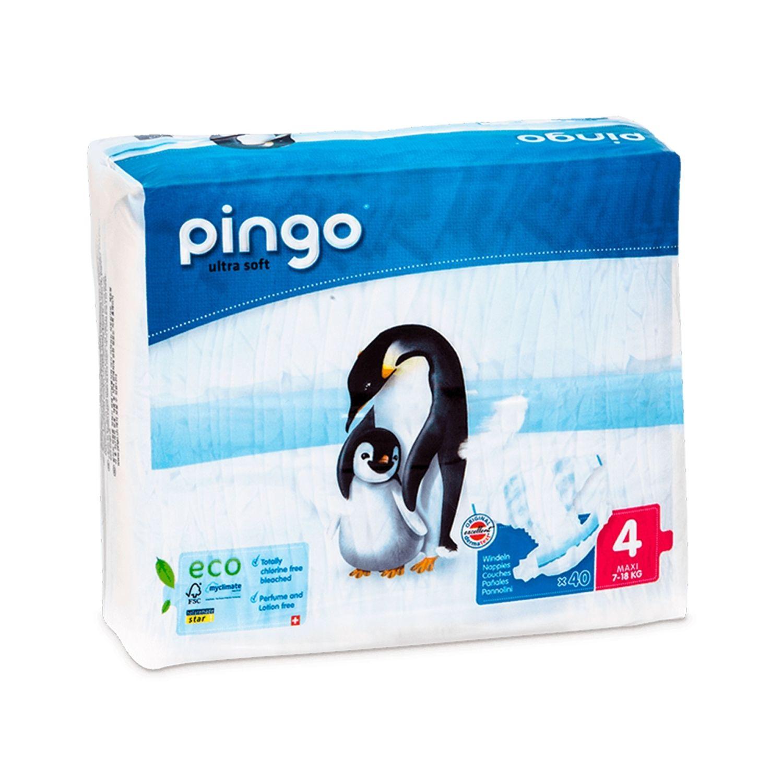 Pingo Couches Maxi Taille 4 7-18kg/40pcs