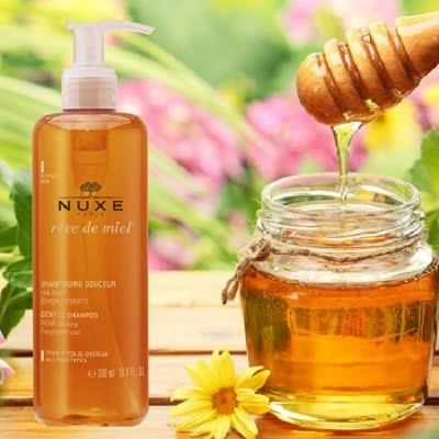 Nuxe Shampooing Rêve de Miel Apaisant Fortifiant 300ml