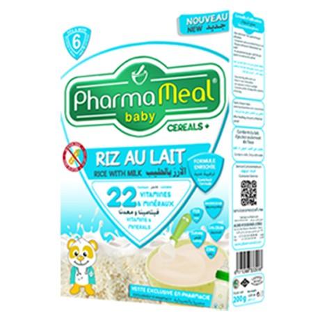 Pharmameal céréale halal riz lait sans gluten 200 grs