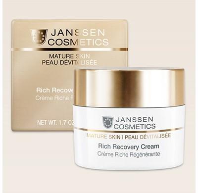 Janssen cosmetics  Crème Riche  Régénérante 50 ml