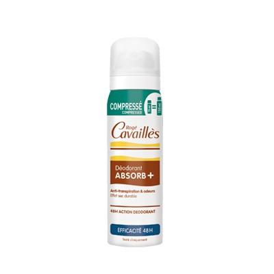 Rogé Cavaillès Déo Absorb+ Spray Compressé Efficacité 48h 75ml