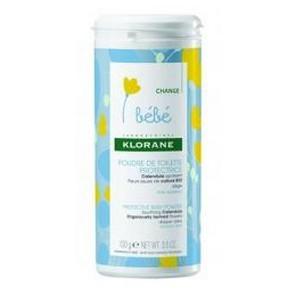 Klorane Bébé Poudre de Toilette Protectrice -Talc (100 Grs)
