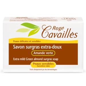 Rogé Cavailles Savon surgras Extra doux amande verte 150 g