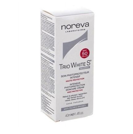 Noreva Trio white S soin photoprotecteur malawhite spf50 40 ml