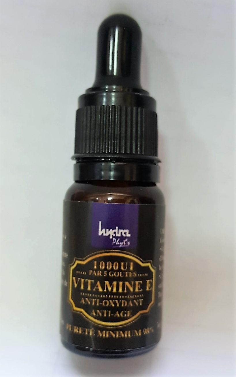 Hydra Phyt's Vitamine E (Anti-oxydant - Anti-âge) 10ml