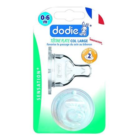 Dodie Tétine Plate Sensation+ (X2) D2