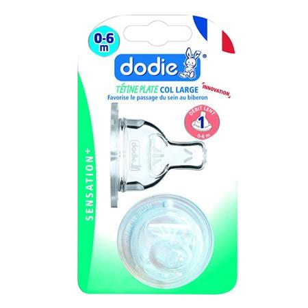 Dodie Tétine Plate Sensation+ (X2) D1