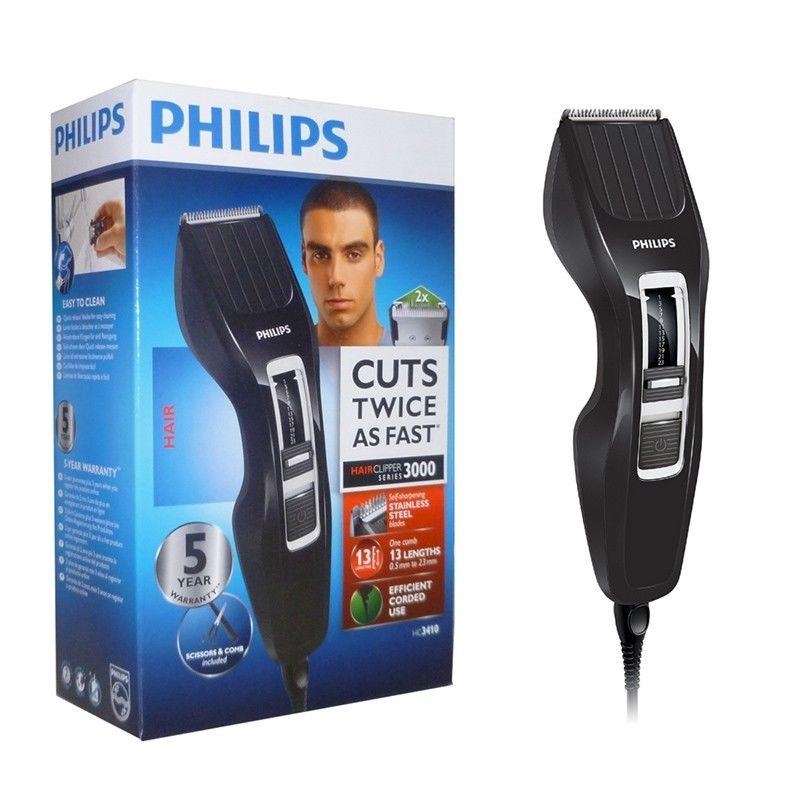 Philips Tondeuse à cheveux avec technologie Dualcut HC3410