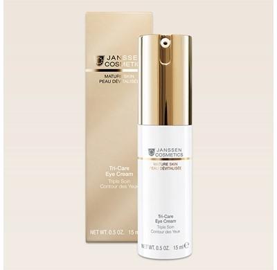 Janssen cosmetics Triple Soin Contour Des yeux 15ML