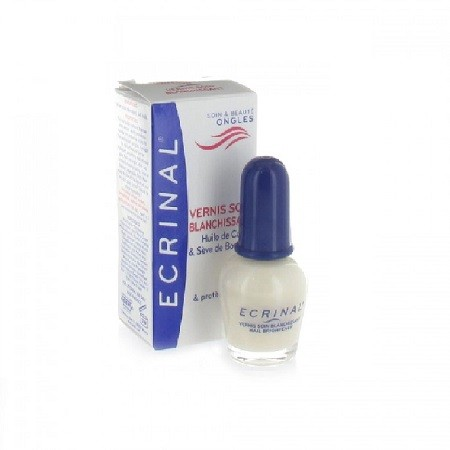 Ecrinal Ongles Vernis Soin Blanchissant 10ml