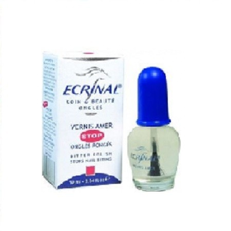 ECRINAL Vernis amer Stop ongles Rongés Totalement invisible.