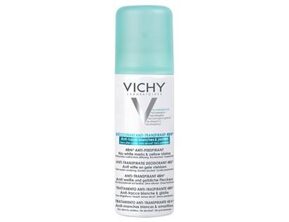 Vichy Anti-transpirant Anti-traces jaunes et blanches spray 48H (125ml)