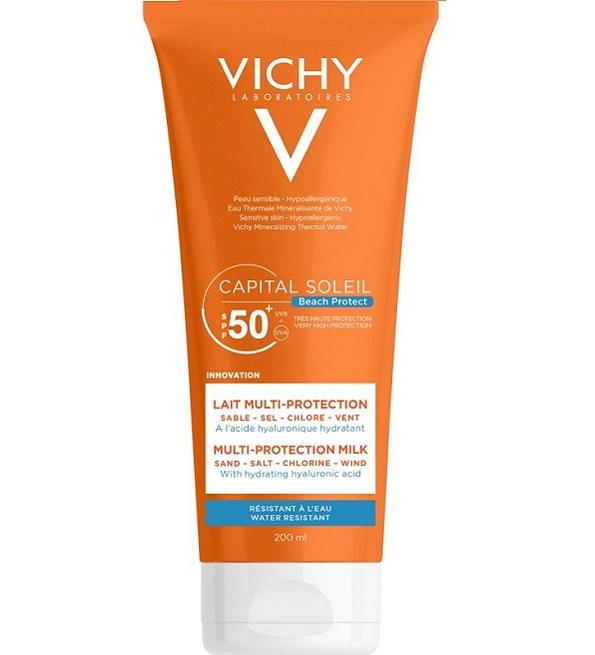 Vichy Capital soleil spf50+ lait corps Adulte 200ml