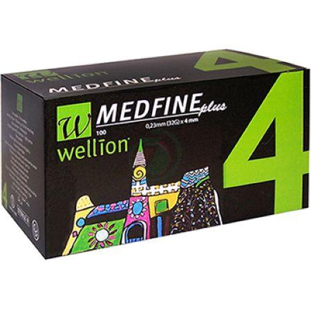 Wellion Medfine Plus 0,23mm (32G) x 4mm