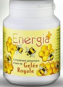 Energia+ Complément alimentaires à base d'extrait de Gelée Royale  6O Gélule