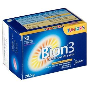 Bion 3 Juniors Activateur de santé Cps 30 (28,5g)