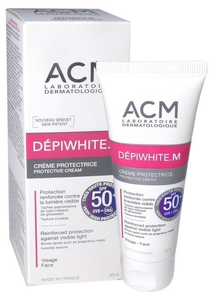 ACM Dépiwhite.M Crème Protectrice teinté dorée SPF50+ 40ml