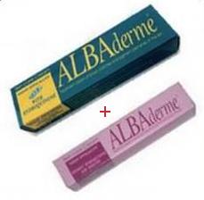 Promotion Albaderme creme anti-tache soin d'attaque haute efficacite 50 ml + Albaderme creme anti-tache sans hydroquinone soin d'entretien (30 ml) offerte