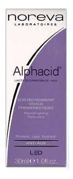 Led Noreva Alphacid Soin redynamisant visage Premières rides - 30 ml