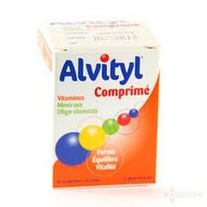 Alvityl Comprimés Enrobés, boite de 40