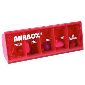 anabox pilulier journalier 5 cases