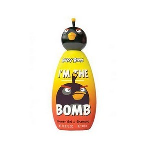 Air-Val Angry Bird Gel Douche + Shampooing 300ml - Topper Bla Réf : 5961