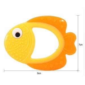 Applebear fish anneau de dentition en silicone sans BPA 0M+