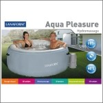 Lanaform Jaccuzi Spa gonflable AQUA PLEASURE 4 personnes