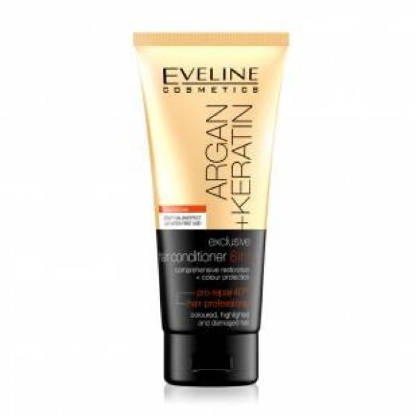 Eveline argan kératine, après shampooing 200ml