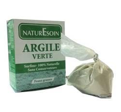 NaturEsoin Argile verte 100% naturelle peaux grasses