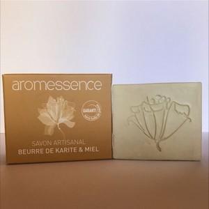 Aromessence Savon Artisanal ( Beurre de Karité et Miel ) 120gr