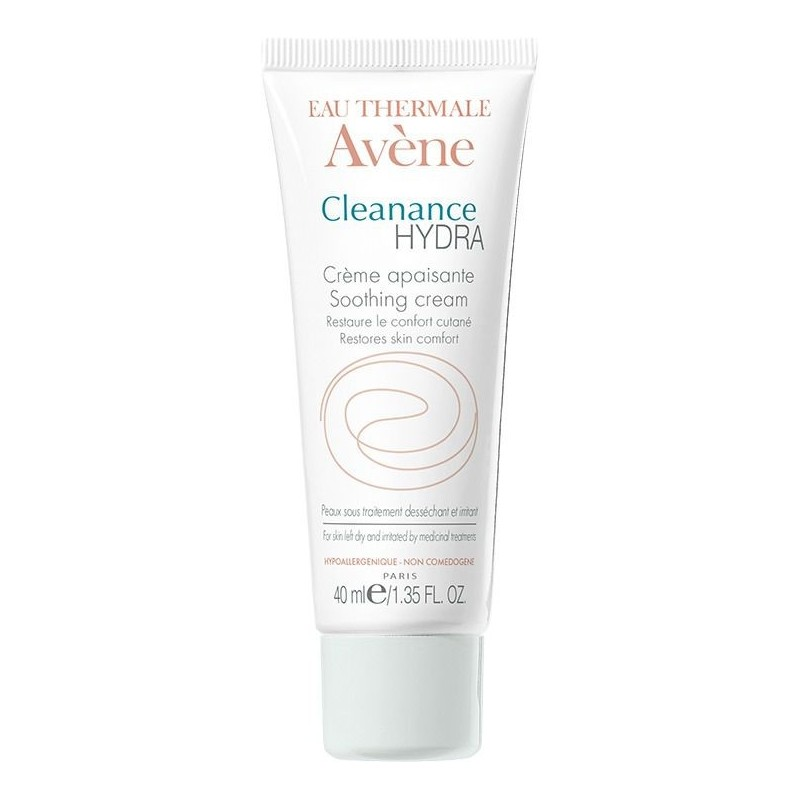 Avène Cleanance hydra crème apaisante peaux à imperfections (40 ml)