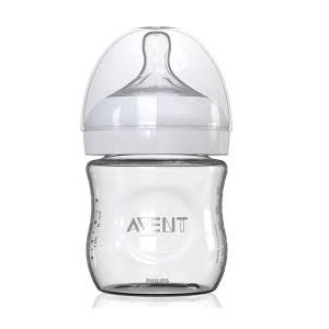 Avent Biberon Natural en Verre anti-colique 0M+ 120 ml