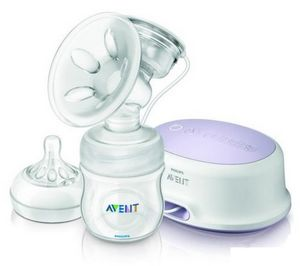Avent Natural Tire Lait Electronique Simple 0% BPA SCF332/01