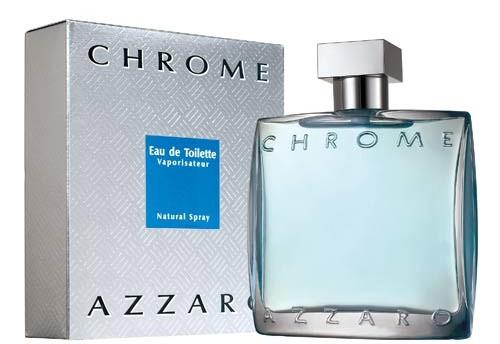 Azzaro Chrome Eau de Toilette Vaporisateur pour homme 100 ml
