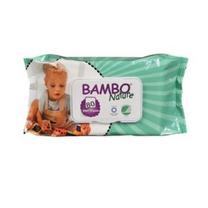 Bambo Nature Lingettes 80 Pièces