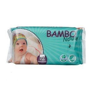Bambo Nature Lingettes 50 Pièces