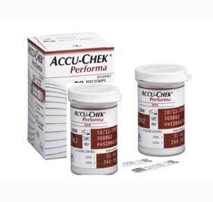 Accu-chek Bandelettes  Performa 50 unités