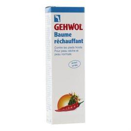 Gehwol baume réchauffant contre les pieds froids, peau sèche et normal 75ml