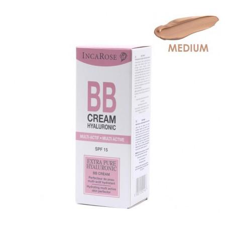 Incarose BB Crème Hyaluronic Spf 15 Médium TB 30ml