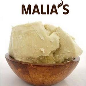 Malia's Beurre de karité 100% Bio Nature - visage, corps, cheveux 150G
