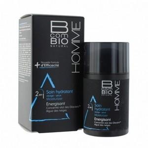 BCOM BIO Hommes Soin Hydratant Energisant 50ml