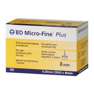 BD Micro-fine plus aiguilles à stylo 8mm