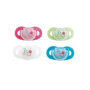 Bébé confort 2 Sucettes Maternity Dental Safe Silicone Décorées 0 à 12 Mois 30000714